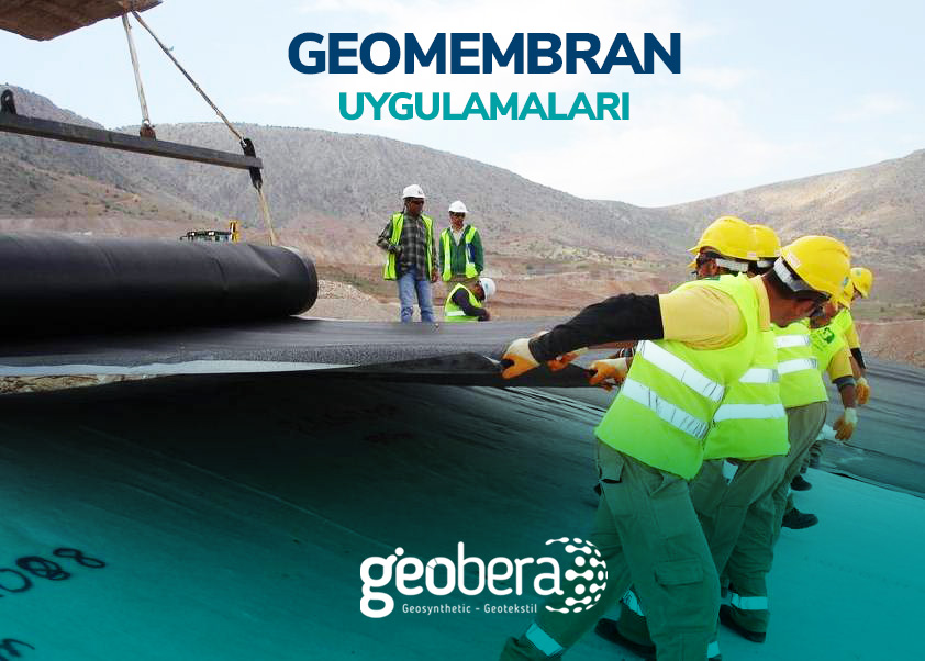 geomembran uygulama